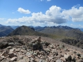 Au sommet du Buachaille