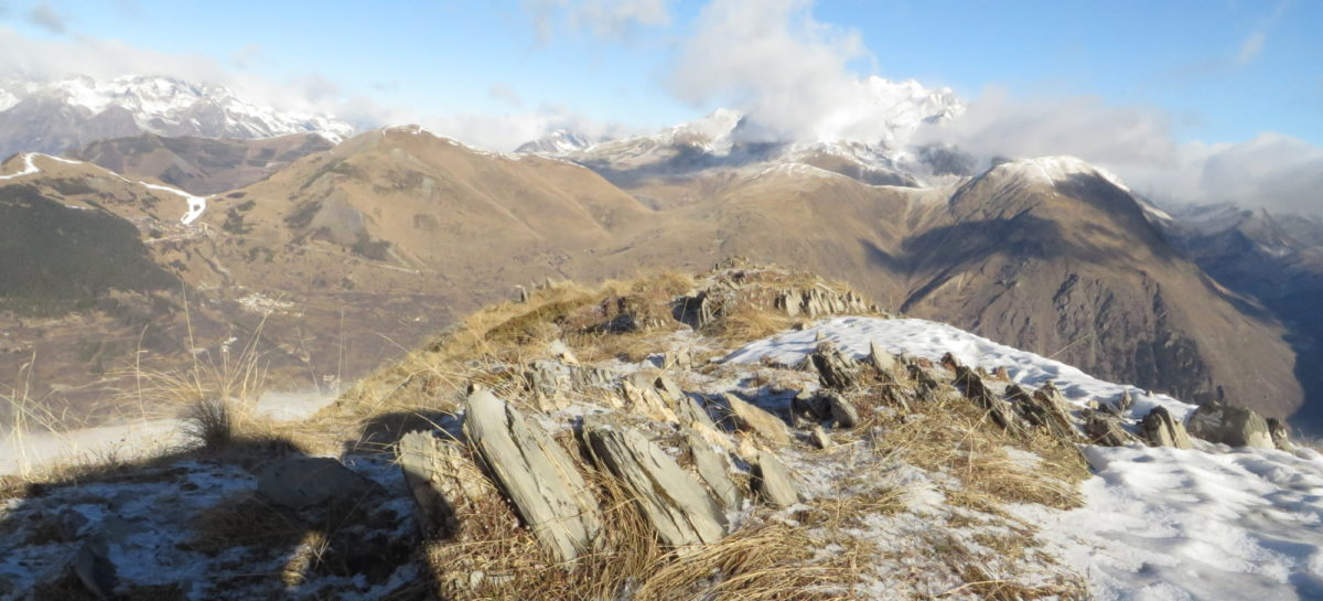 Crête du Fioc depuis les Deux Alpes