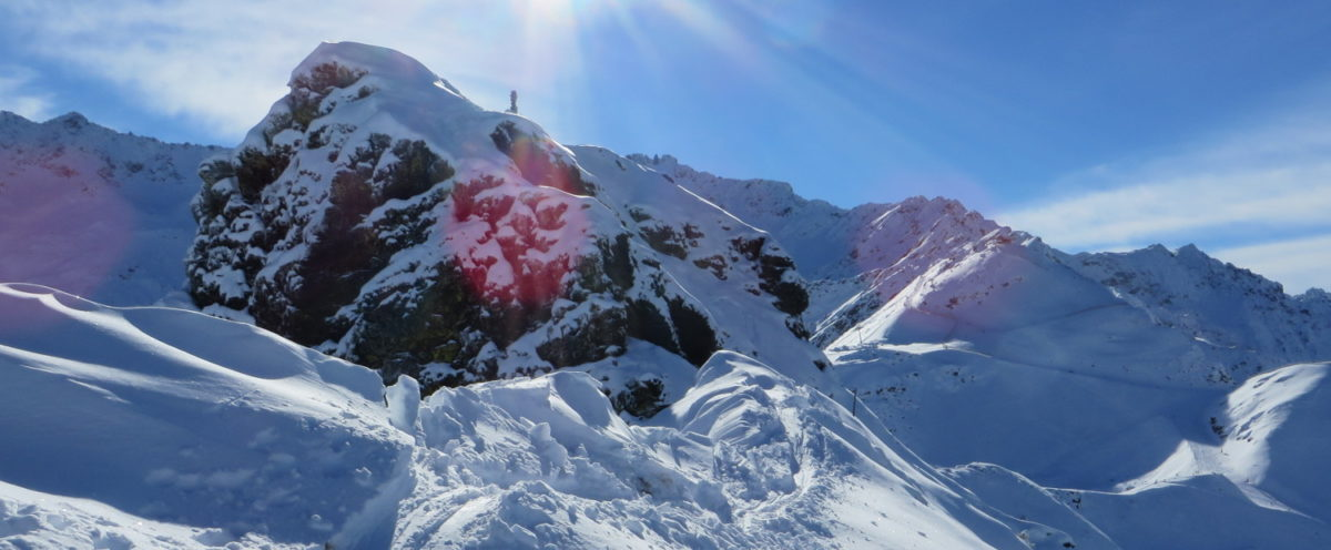 Roche Noire, à skis depuis le Pleynet